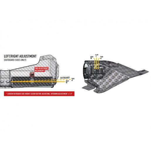 Прожектор светодиодный Lazerlamps Fiesta R5 2-Way Rally Lamp Pod 0064-2WBP-G2