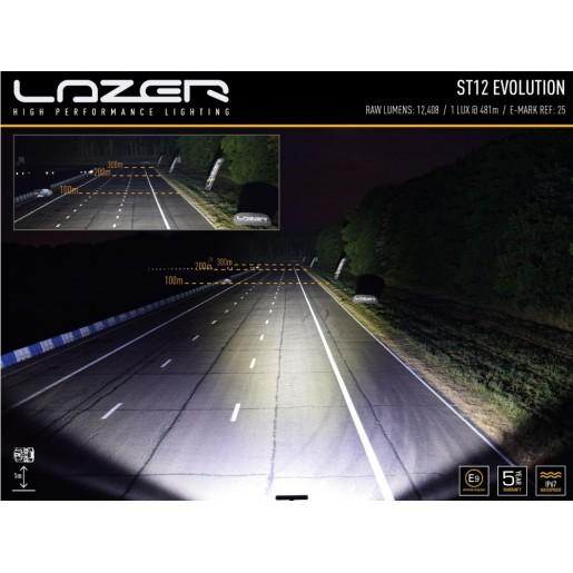 Светодиодная балка Lazerlamps ST12 Evolution 0012-EVO-B