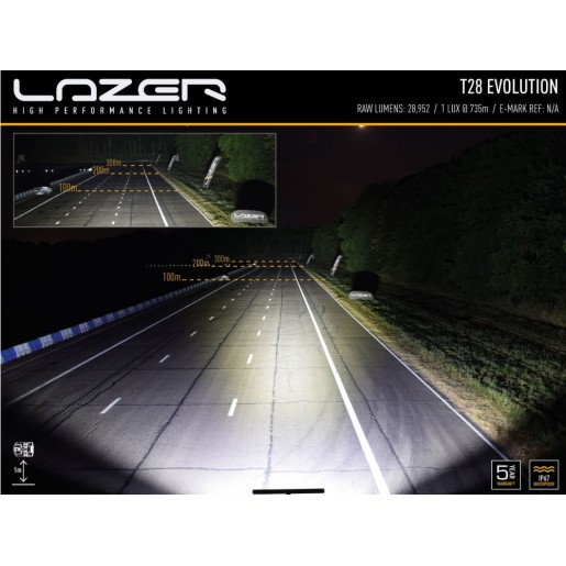 Светодиодная балка Lazerlamps T28 Evolution 0028-EVO-B