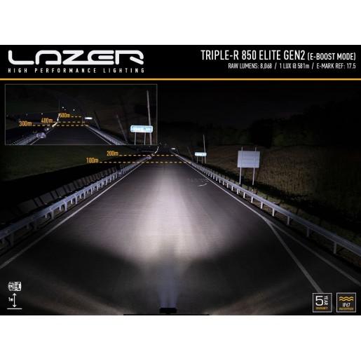 Светодиодная балка Lazerlamps TRIPLE-R 850 Elite GEN-2 00R6-G2-EL-B